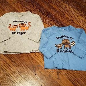 2 Gymboree 12-18M Long Sleeve Shirts